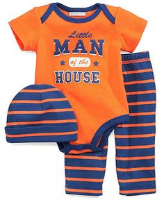 Bright First Impressions Baby Boys French Creeper Bodysuit New With Tags 3-6m