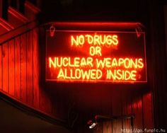No nuclear weapons