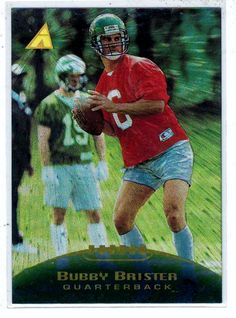 Sports Cards Football - 1995 Pinnacle Bubby Brister