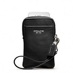 Coach :: Legacy Leather Universal Case