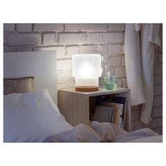 IKEA SINNERLIG table lamp Gives a soft mood light.