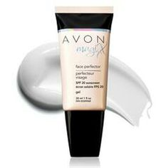 Avon magiX  I love using this before my foundation. It smooths your skin and has SPF 20 sunscreen.