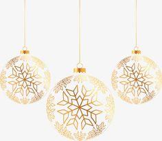 Золотой мяч Рождества, рождество, украшения, золотойPNG и вектор