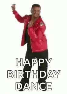 """101 Funny Birthday Memes to Take the Dread Out of Turning 40 101 Happy Birthday Memes – """"Happy birthday dance. Happy Birthday Dance, Funny Happy Birthday Images, Funny Happy Birthday Pictures, Happy Birthday Brother, Birthday Wishes Funny, Birthday Songs, Happy Birthday Messages, Happy Birthday Quotes, Birthday Memes"""