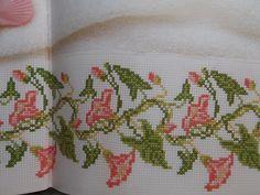 Cross stitch book 'Wild Flowers Cross Stitch by PurpleValleyDesign