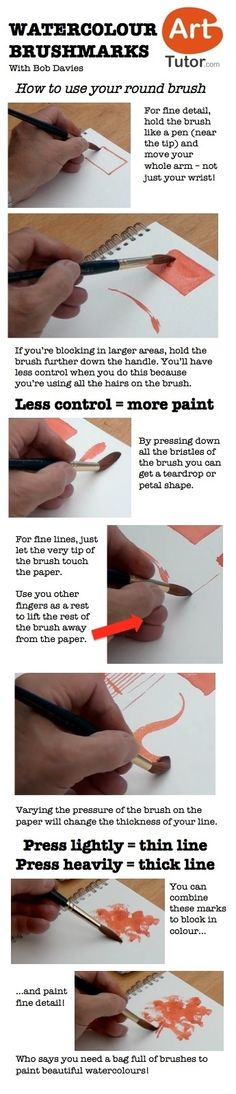 How to Use a Round Brush