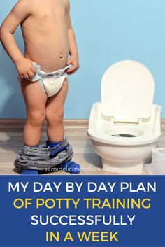 A Day by Day Breakdown of Potty Training Successfully in a Week