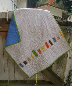 another fun idea for a quilt back