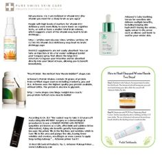 Great information on why I love Arbonne's products