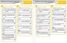 Progression - Mes chemins d'apprentissage en français -