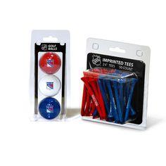 New! New York Rangers 3 Ball Pack and 50 Tee Pack #NewYorkRangers