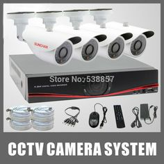 SUNCHAN AHD DVR 4CH HD AHD-M DVR 4pcs 720P 1200TVL AHD Outdoor Security Cameras 24 Leds Home Security System Surveillance KitsSPECIFICATIONS: Brand Name:SUNCHANModel Number:SKT-4040DV1DVR/NVR Channels:4Camera Connectivity:C...