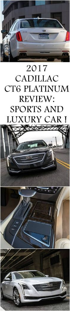 2017 CADILLAC CT6 PLATINUM REVIEW: SPORTS AND LUXURY CAR !