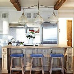 rail and pendant lighting for kitchen peninsula - Google Search
