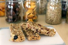 """Fight midday hunger by making your own """"energy"""" bars with fresh ingredients from your garden."""