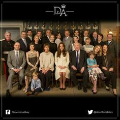 Kate visits the set of Downton Abbey!