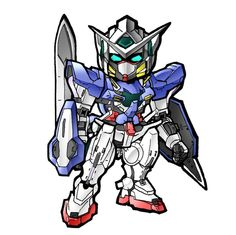 SD Gundam Exia by KenshinGumi559 on DeviantArt