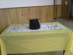 Graduation Table Decor