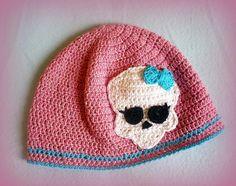 crochet patterns for monster high hats   Crochet hat Monster High by GrazzielaDesign   Crocheting Ideas
