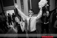 Guess who's excited to catch the bouquet? #wedding #idaho #idahowedding #sandpoint  #reception #bouquet #excitement #heisnotalady