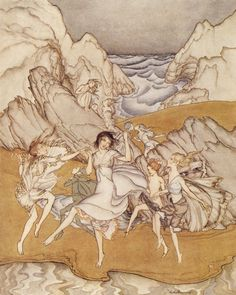 The Tempest 1926 Arthur Rackham