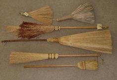 {*} COLLECT. broom