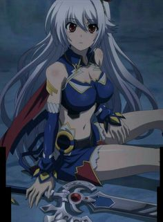 Lord Marksman and Vanadis Anime Girl Cute, Kawaii Anime Girl, Anime Art Girl, I Love Anime, Anime Girls, Rwby Anime, Chica Anime Manga, Otaku Anime, Campione Anime