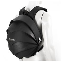 Pangolin backpack is crafted by using recycled inner tubes of trucks