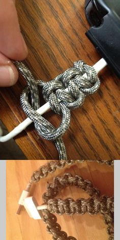 How to Make a Paracord iPhone Cable