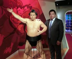Chiyonofuji figure has now come to Japan to celebrate the opening of Madame Tussauds Tokyo