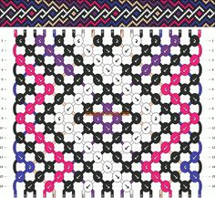Normal Friendship Bracelet Pattern
