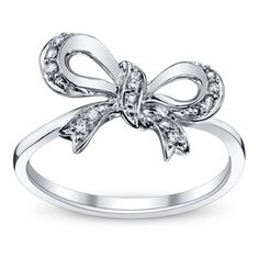 10K White Gold Diamond Promise Ring ... maybe propose with a promise ring and then go pick out the main ring together?