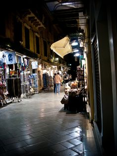 Night shopping, Corfu Old Town | Flickr - Photo Sharing!