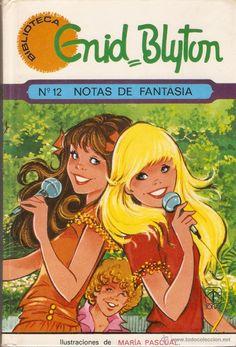 BIBLIOTECA ENID BLYTON - Nº 12 - NOTAS DE FANTASÍA - MARIA PASCUAL - TORAY - 1982 (Libros de Lance - Literatura Infantil y Juvenil - Cuentos...