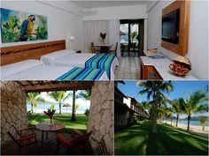 Acomodação perfeita para você que não abre mão de um ótimo lugar para descansar! #BeachRoom #VemProPortobello