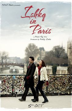 First look of Preity Zinta come back movie Ishkq In Paris.