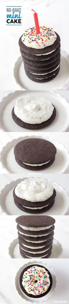 How to make a No-Bake Mini Cake!