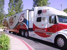 AAA, NASCAR, Roush Racing, Volvo, Transporter, Hauler