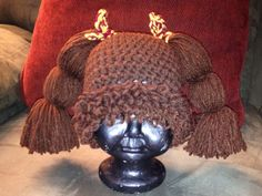 Crochet Cabbage Patch Hat Made to Order by 2Legit2KnitCrochet, $20.00
