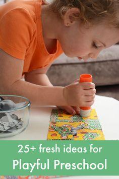 easy creative ideas for preschool
