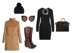 """It's cold but I still want to look good."" by styletherapistkdj on Polyvore featuring Givenchy, Monsoon, Autumn Cashmere, Lanvin, STELLA McCARTNEY, MaxMara and Eugenia Kim"