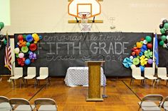 5th Grade Teacher decor for promotion | have to show you this, which I stole from my friend's IG feed and it ...