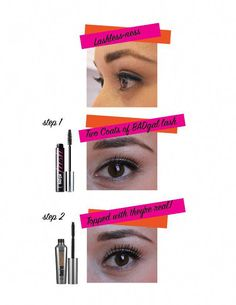 #HowToApplyMascara How To Heal Burns, Natural Makeup For Brown Eyes, Cleopatra Beauty Secrets, Alcohol Free Toner, How To Apply Mascara, Puffy Eyes, Volume Mascara, Benefit Cosmetics, Skin Care Tips