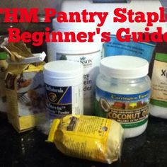 Basic THM Pantry Staples to Have on Hand: Beginners Guide