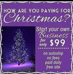 Start your Younique business on my team and pay for your Christmas!!  youniqueproducts.com/WendyRoot