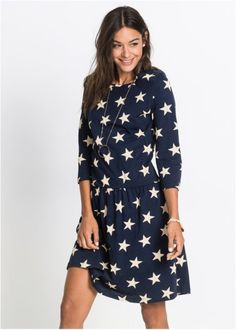 Úpletové šaty s hvězdičkami, RAINBOW