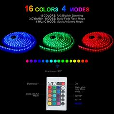 Colored Led Light Strips Inspiration Color Changing Led Lights For The Bedroom Led Strip Lighting #blue