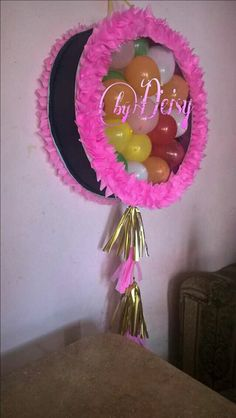 con globos lo mas moderno 2nd Birthday Party Themes, Girl Birthday Decorations, Balloon Decorations, Fiesta Mickey Mouse, Minnie Mouse Party, Unicorn Party, Unicorn Birthday, Diy And Crafts, Crafts For Kids