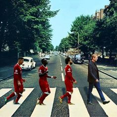 Liverpool and abbey road Liverpool Team, Mohamed Salah Liverpool, Juergen Klopp, Liverpool Wallpapers, This Is Anfield, Nba, Premier League Champions, You'll Never Walk Alone, England Football