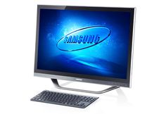 Samsung unveiled the Series 7 and Series 5 all-in-one PCs, which sport designs based on Samsung TVs along with gesture control. All In One Pc, Subway Surfers, Samsung Tvs, Windows 8, Microsoft Office, Monitor, Technology, Rocks, Favorite Things